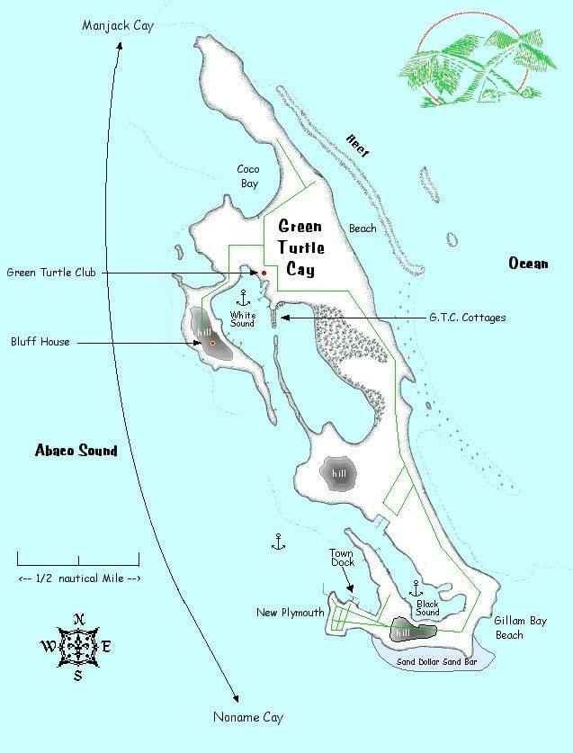 About Green Turtle Cay, Abaco Bahamas. A Vacation Guide