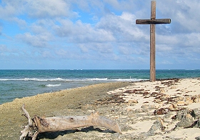 Cross of Green Turtle Cay