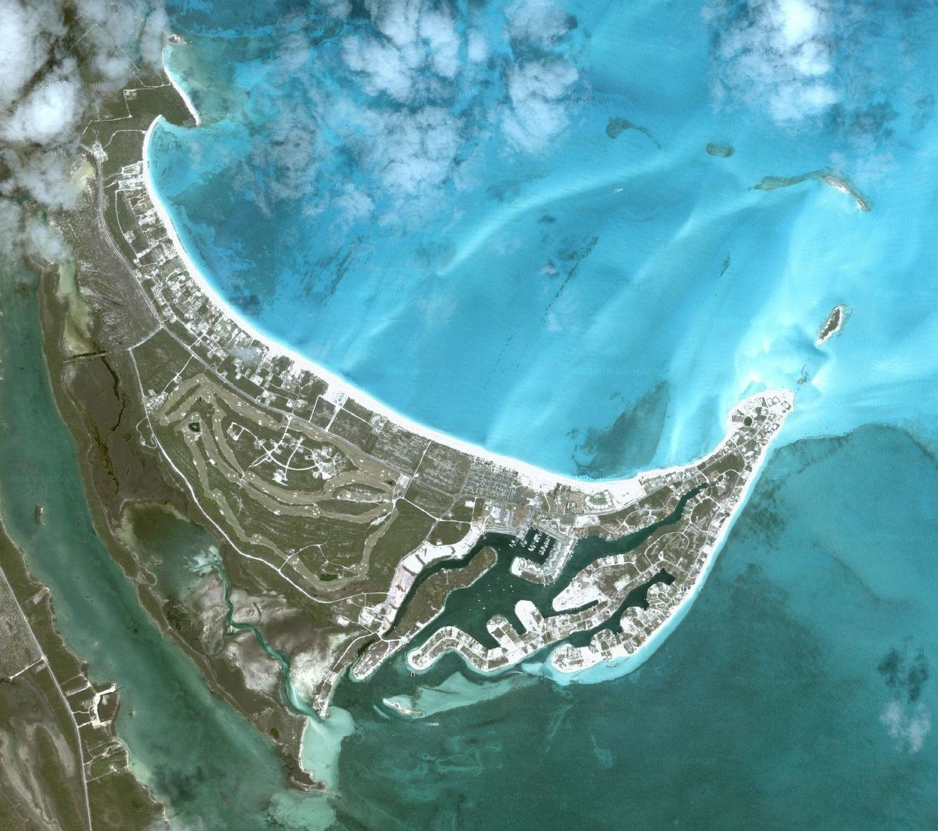 Treasure Cay Boasts The Most Beautiful Crescent White Sand Beaches Sat Photo